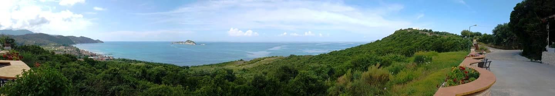 Arillas-Bucht-Panorama